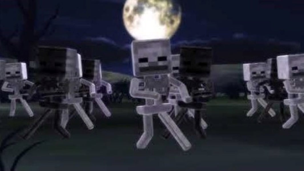 Skeletons from Minecraft