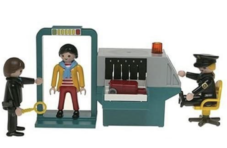 Airport Security Play Set.