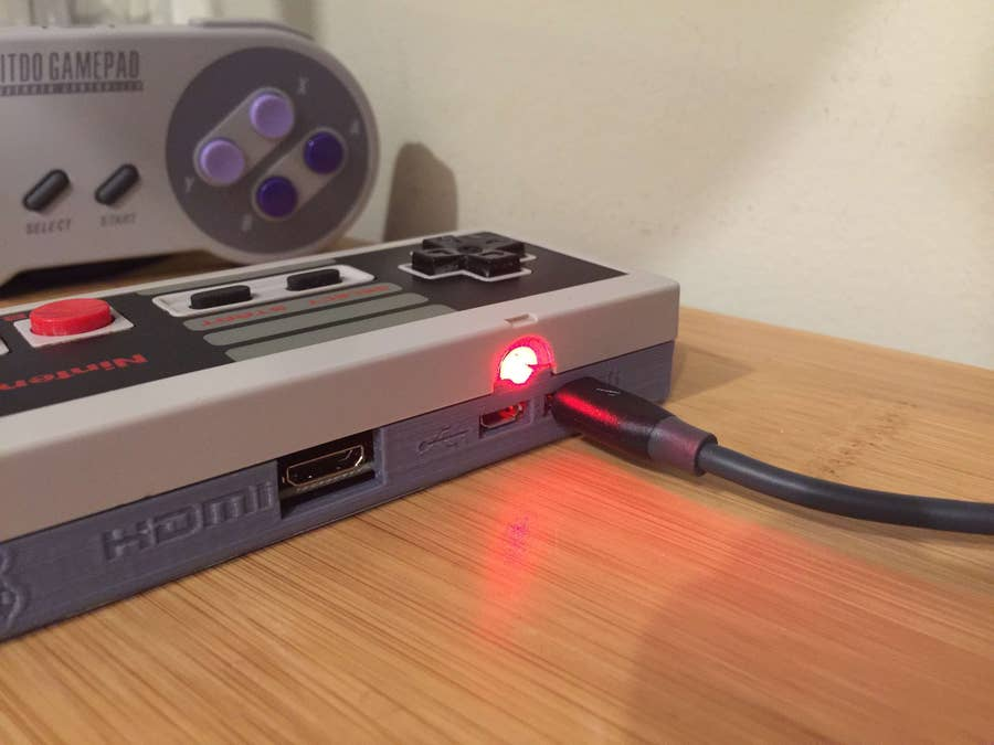 Gamepad Zero power LED