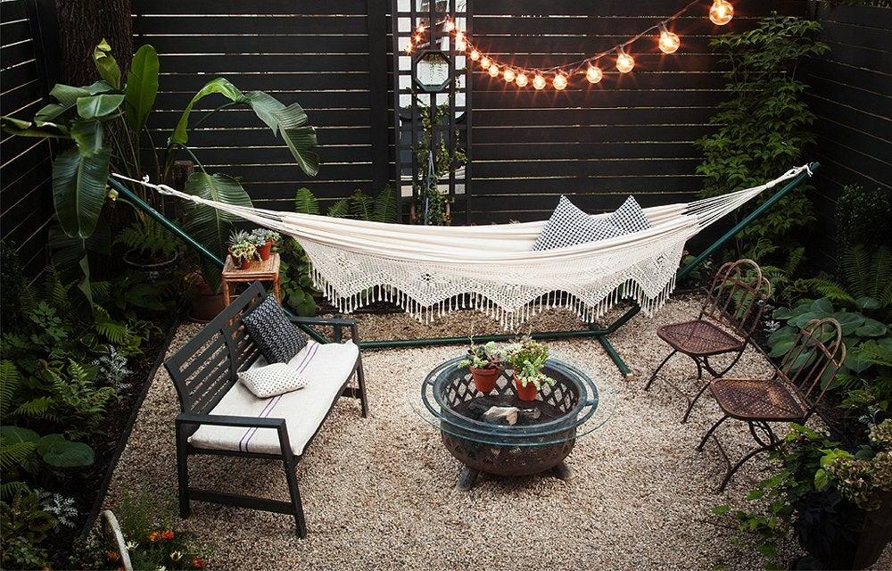 small nice backyard