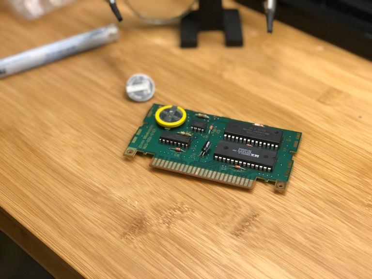 N64 battery change