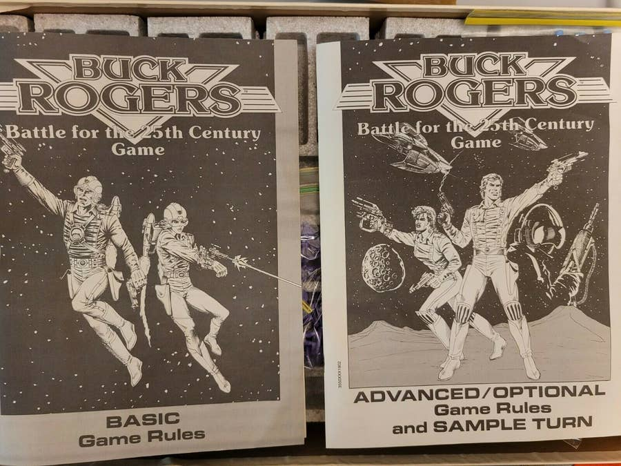 Buck Rogers: Battle for the 25th Century Game (1988)