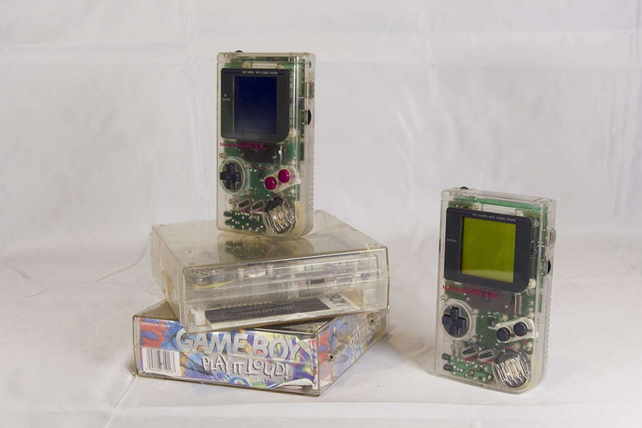 Clear Play It Loud Game Boy