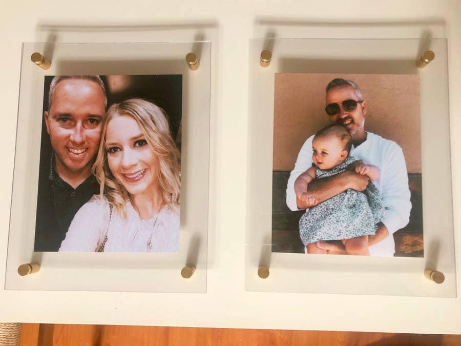 Assemble the acrylic frames