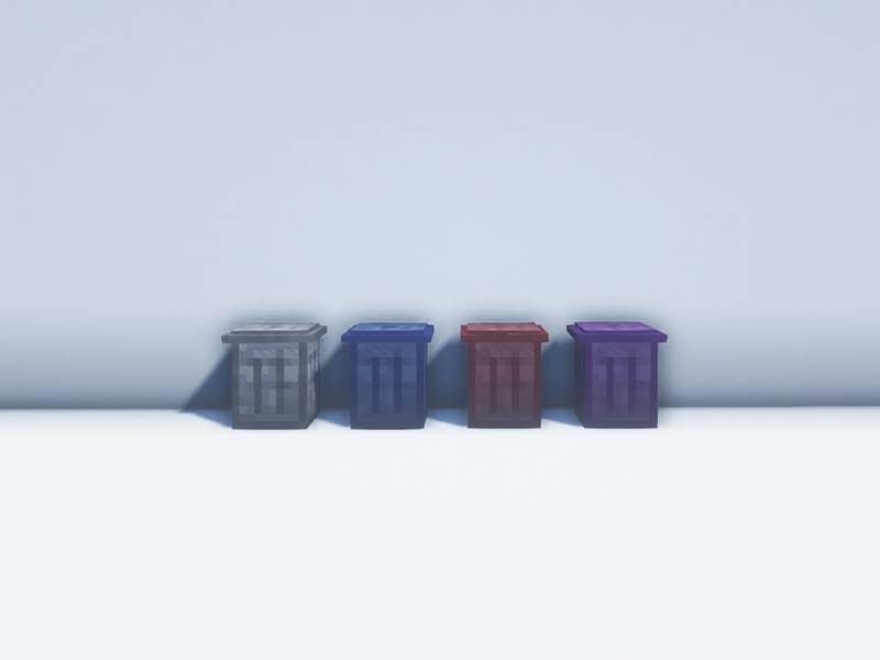 trash cans forge mod minecraft