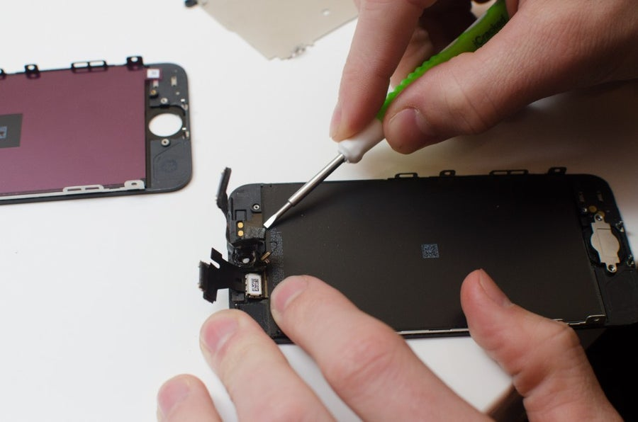 Remove the remainder of the camera assembly
