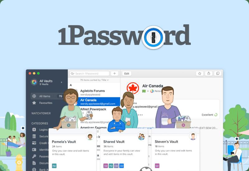 1Password Background