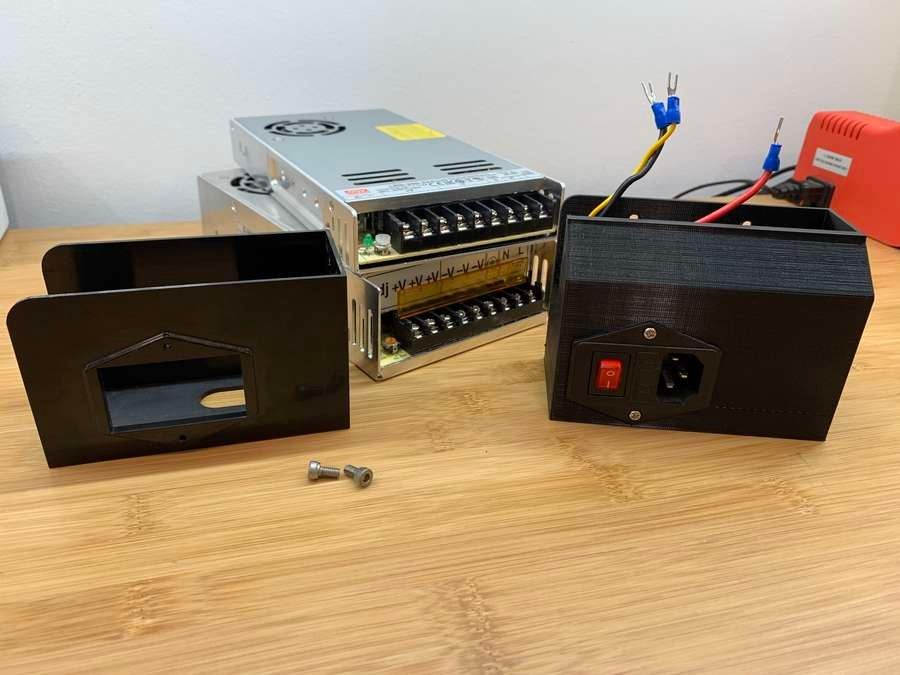 Transferring Ender 3 AC plug inlet