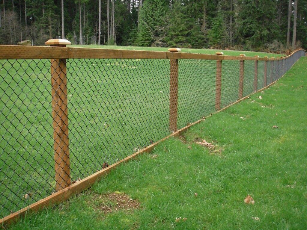 open fencing wooden