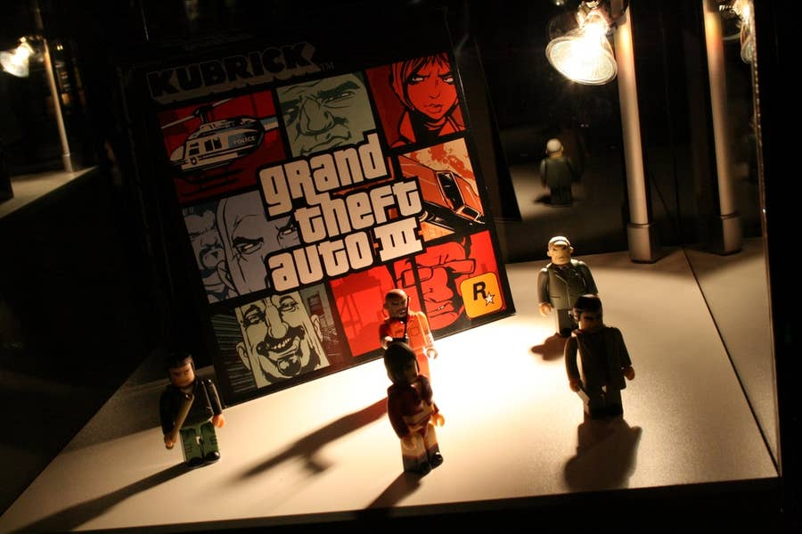 Grand Theft Auto 3 with Toys