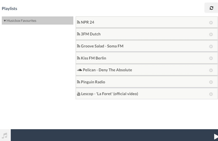 Configure your music library