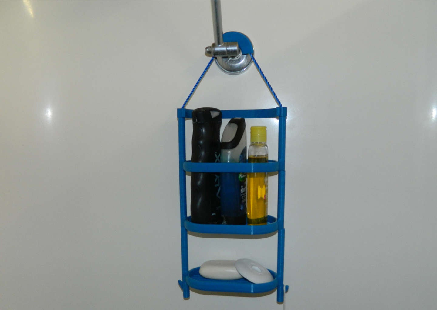 3D printed shower caddy