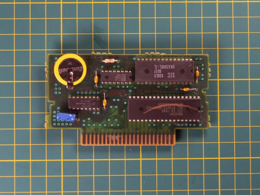 SNES new cartridge battery