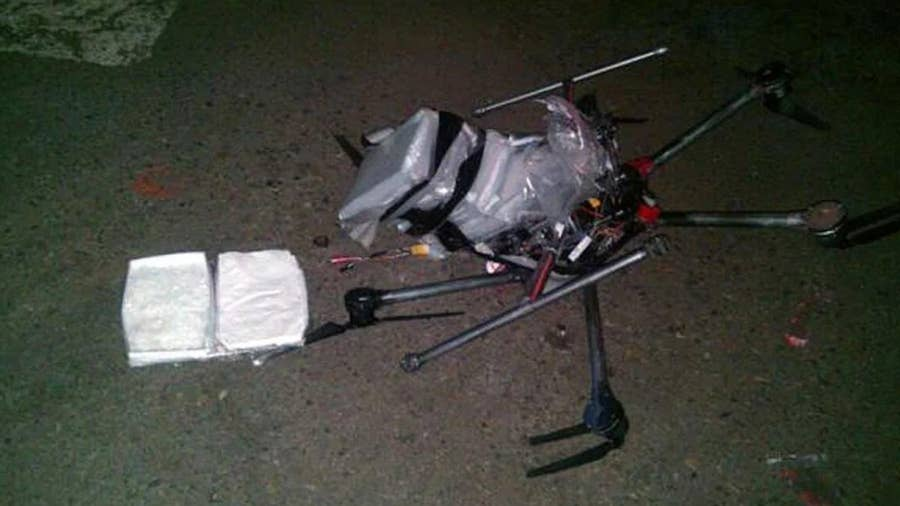 31 Drug drones used by cartels to transport drugs.