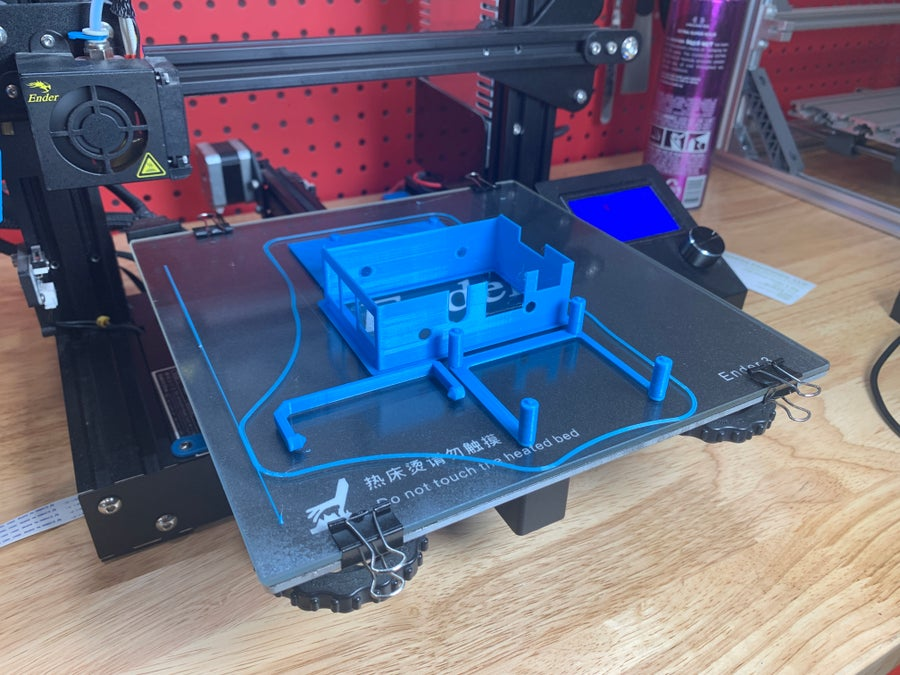 Ender 3 touchscreen 3D model