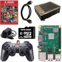 Atari Raspberry Pi 3 Retro Arcade Gaming Kit