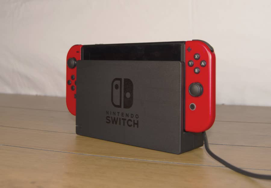 Nintendo Switch on Dock
