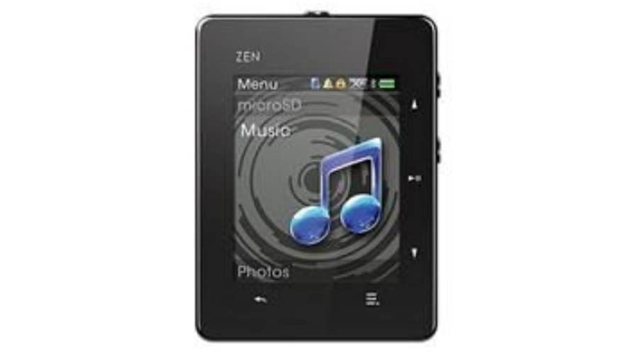 Creative Zen MP3 Players