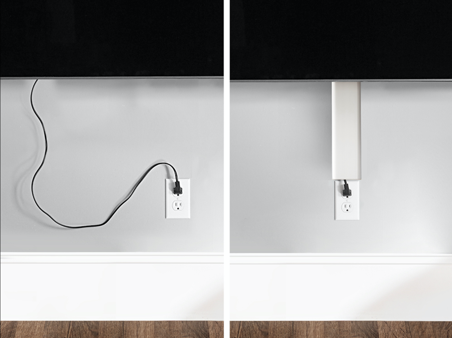 cable hiding strips on Pinterest