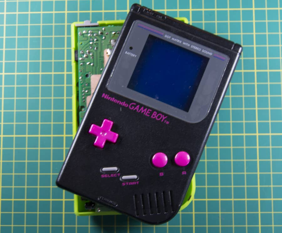Open the Game Boy