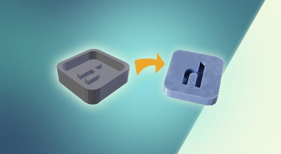 How to 3D print a custom mold