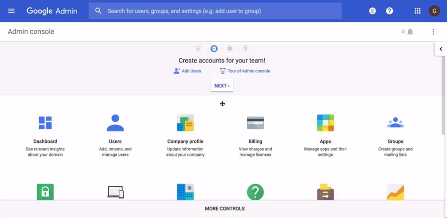Google Admin Workspace