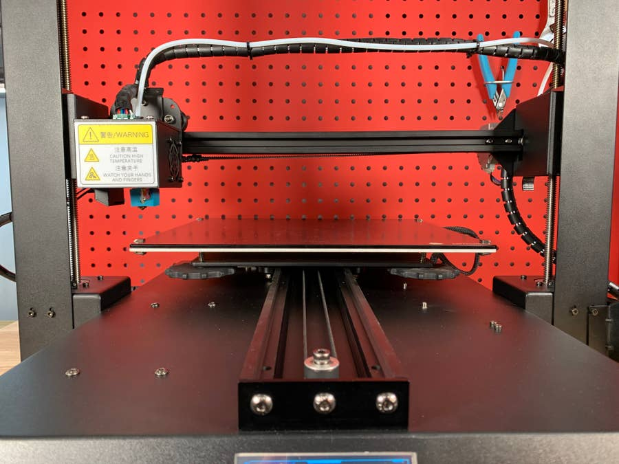 Anycubic Mega X motion system design