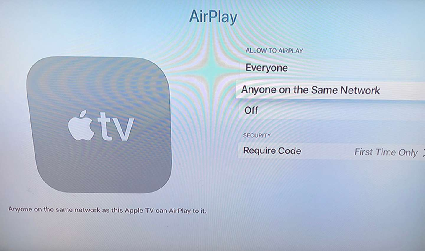 Determine which option to use for Airplay usage