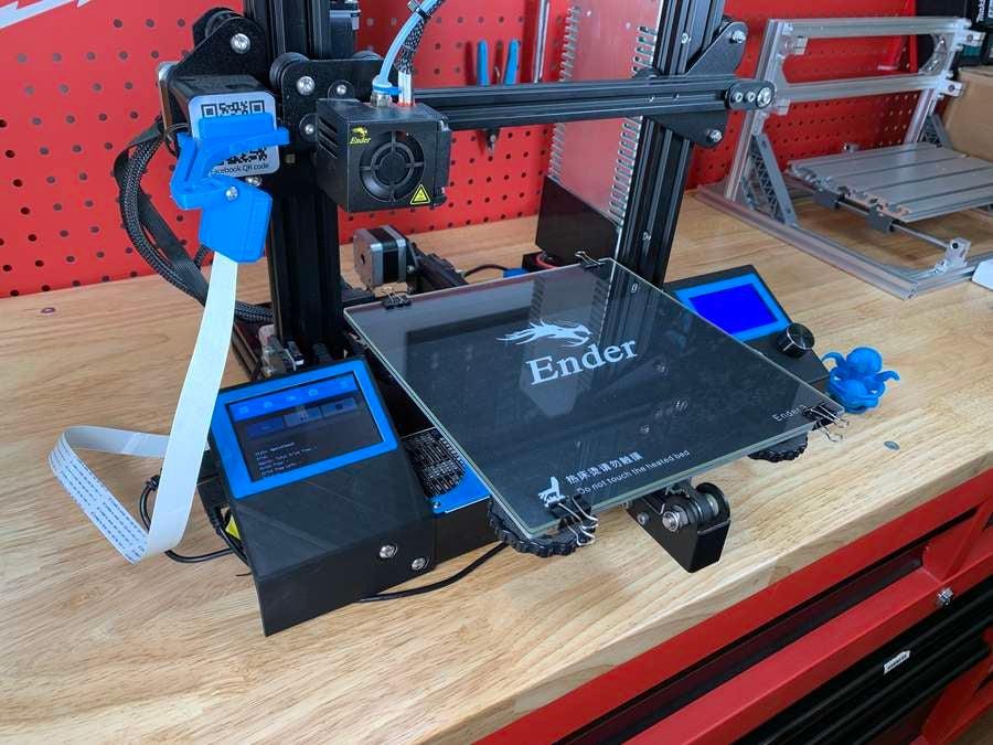 OctoPrint touchscreen final photo
