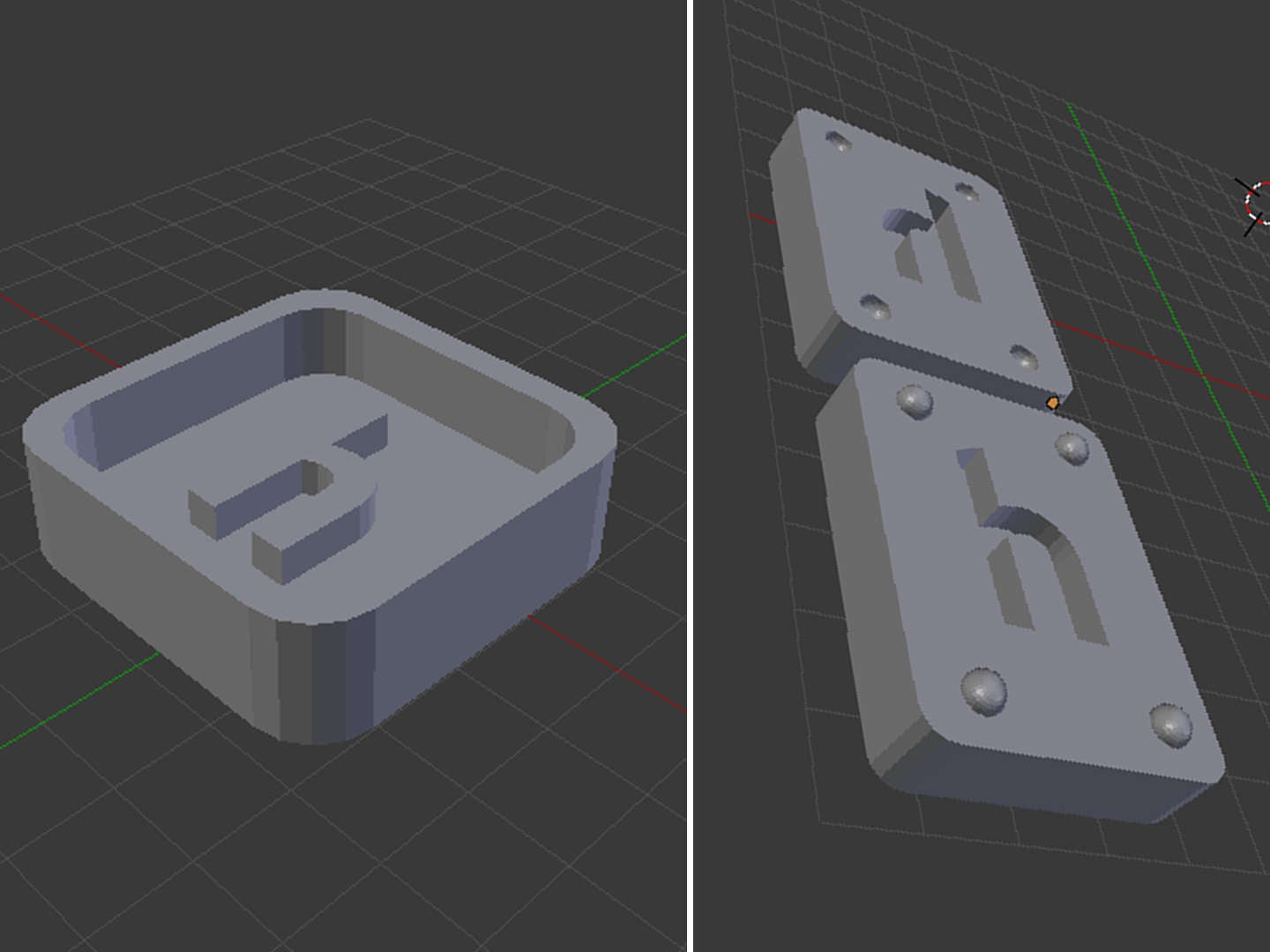 Create a mold from the design