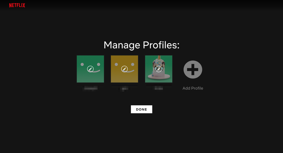 Netflix disable autoplay manage profile.