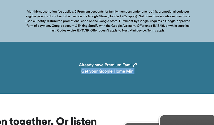 Get your Google Home Mini