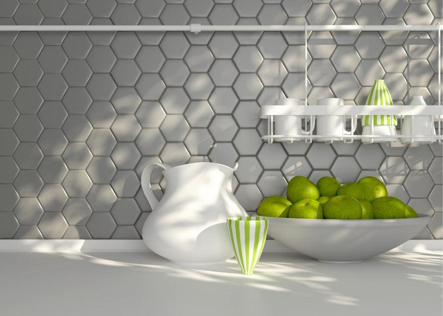Geometric tile.