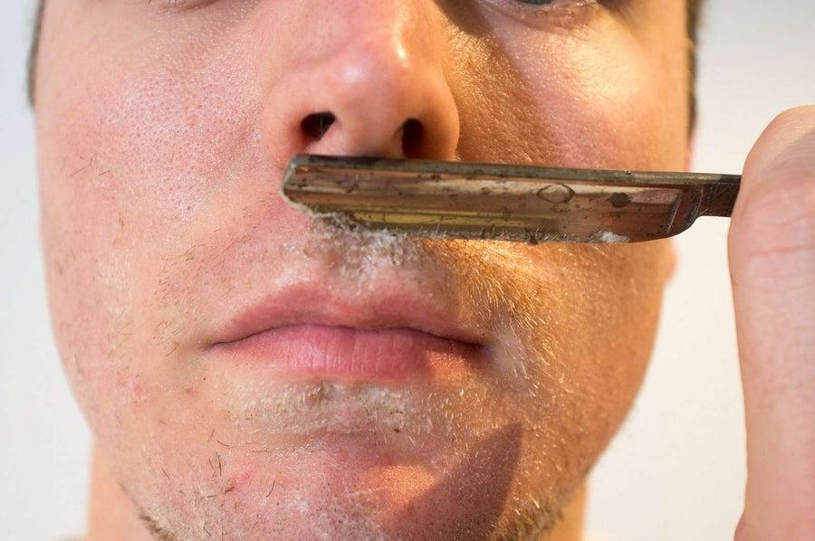 Shave your moustache