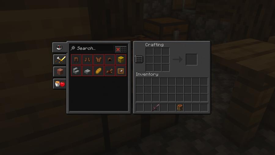 unity dark edition dark GUI minecraft