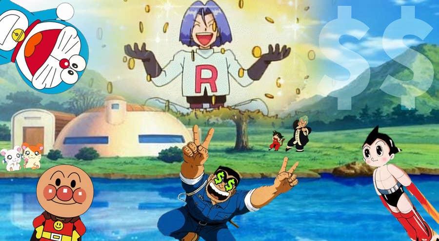 Highest Grossing Anime Franchises