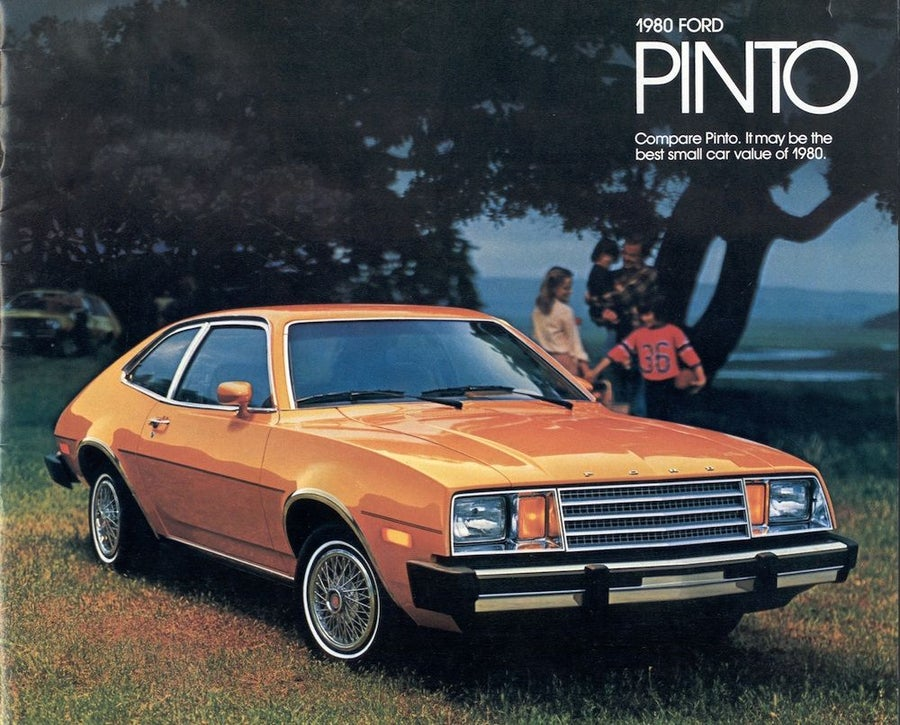 1980 Ford Pinto Advertisement