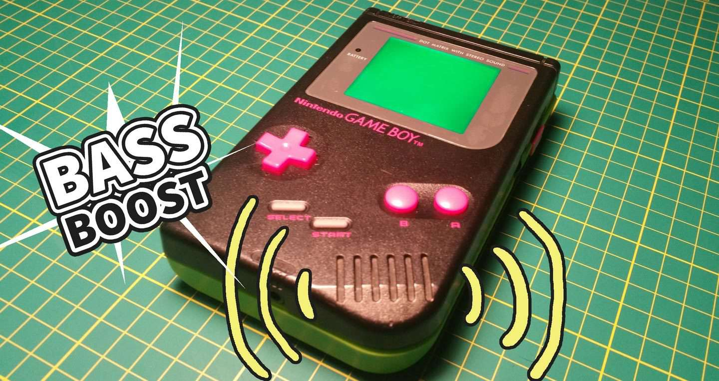 How to bass boost an original Game Boy