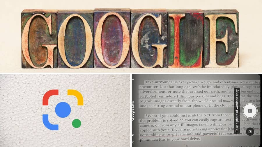How to Use Google Lens to Capture Any Text With Your Smartphone!