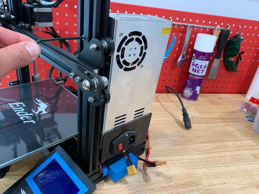 Removing the stock Ender 3 power supply unit (PSU)