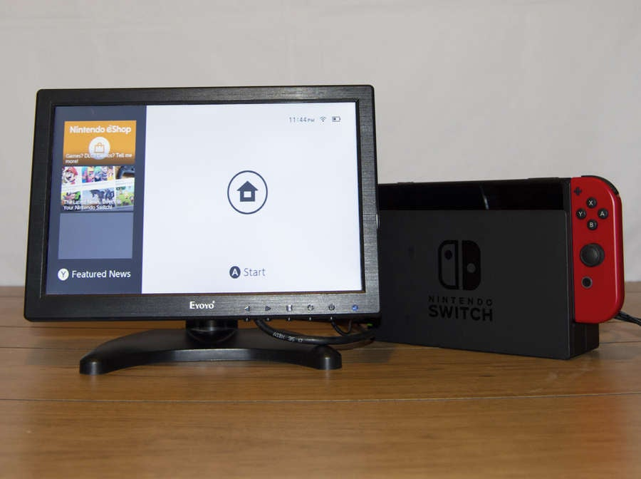 Switch connected to TV