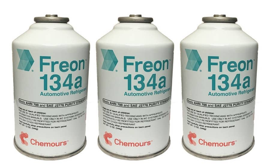 Freon cans