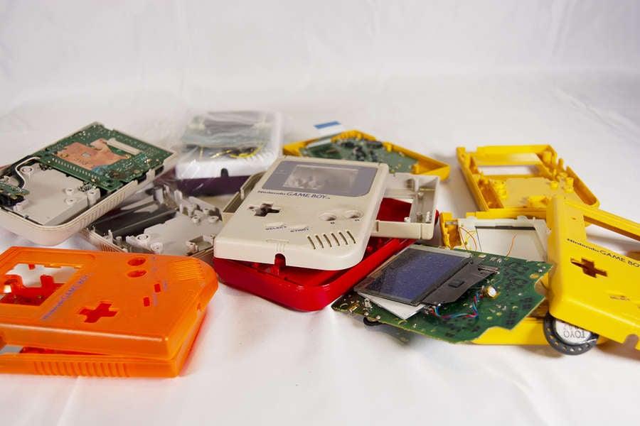 Game Boy Parts Frankenboys