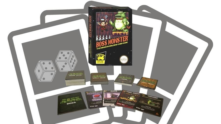 Boss Monster: The Dungeon Building Card Game (2013)
