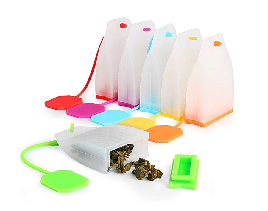 Reusable tea bags.