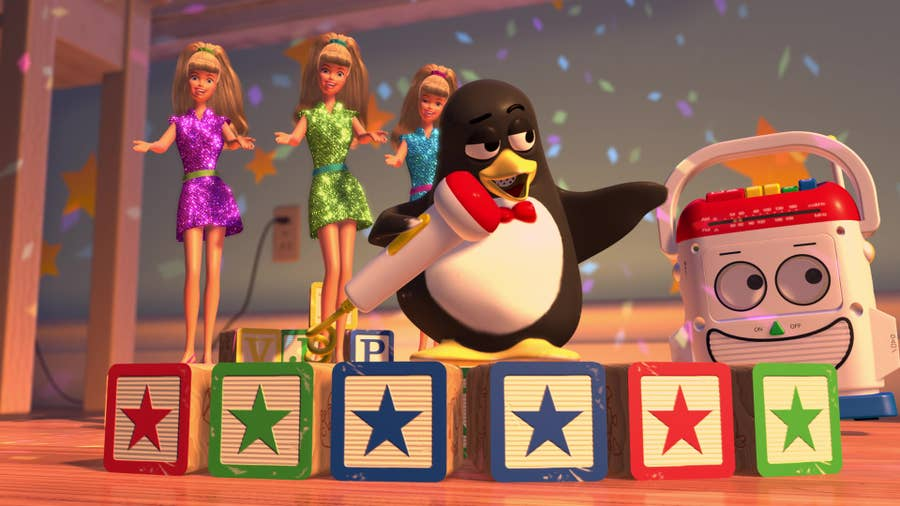 Wheezy from Toy Story