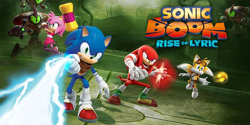 sonic boom rise of lyric big red button