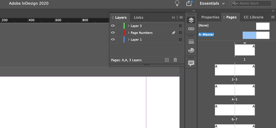 Master Page InDesign