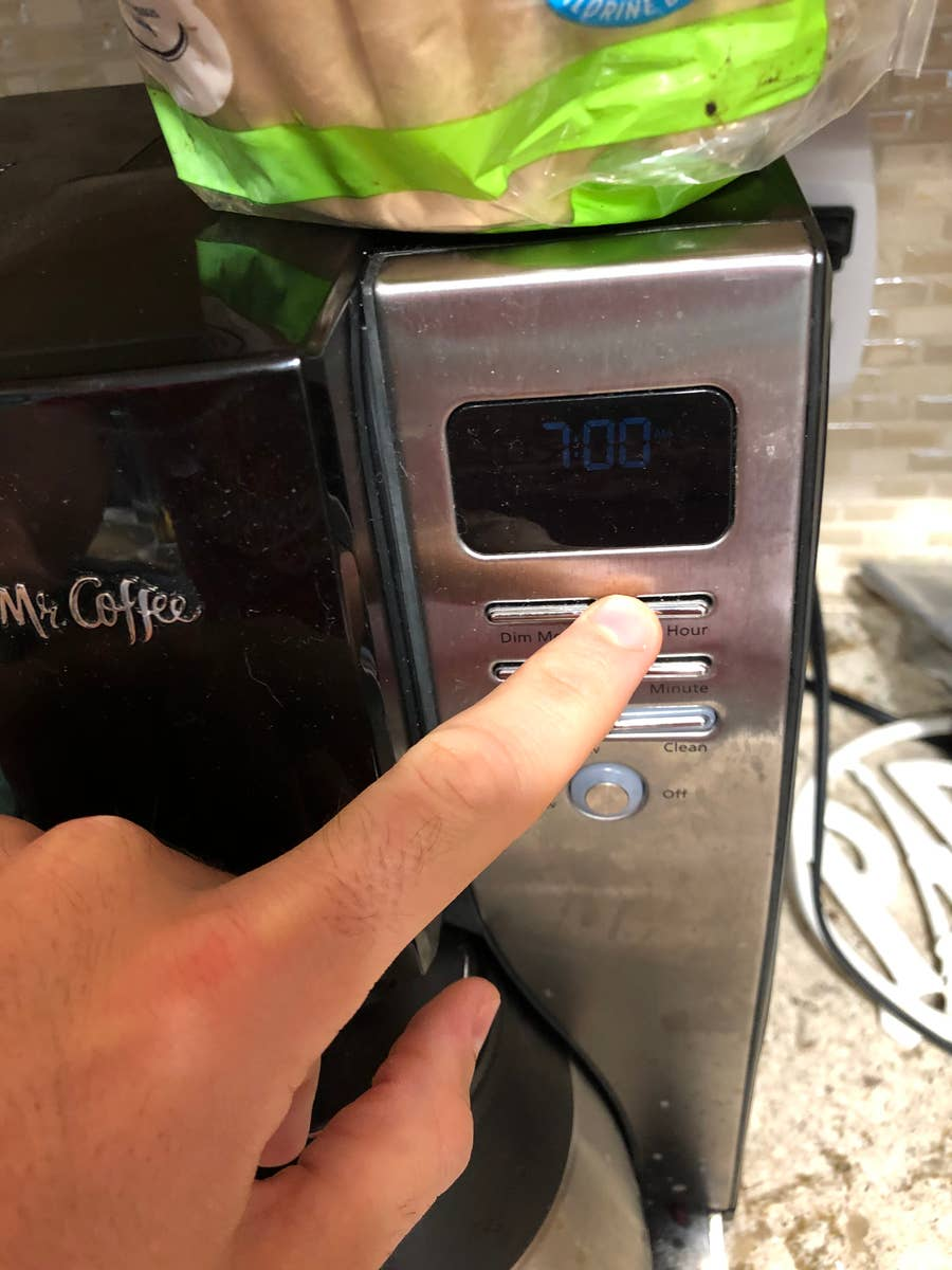 Change Delay Brew Time on Mr.Coffee Maker