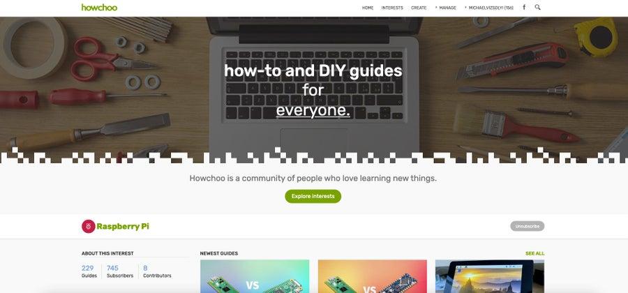 howchoo homepage 2021